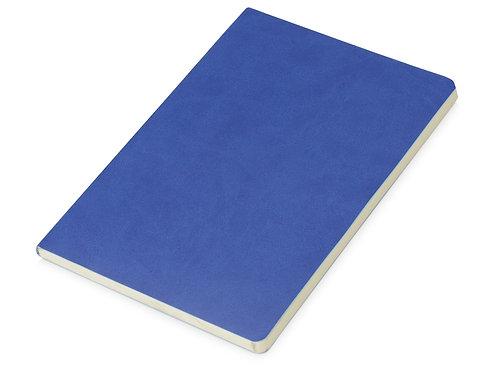 Блокнот «Wispy» линованный в мягкой обложке, синий