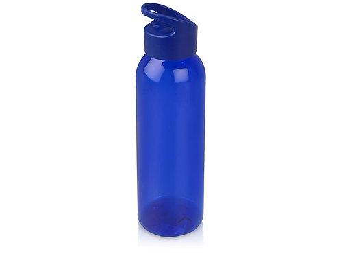 """Бутылка для воды """"Plain"""" 630 мл, синий"""