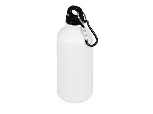"""Бутылка """"Oregon"""" с карабином, белый"""