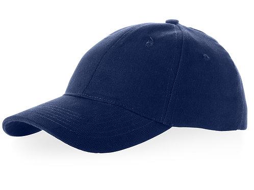 """Бейсболка """"Bryson"""", 6 панелей, темно-синий"""