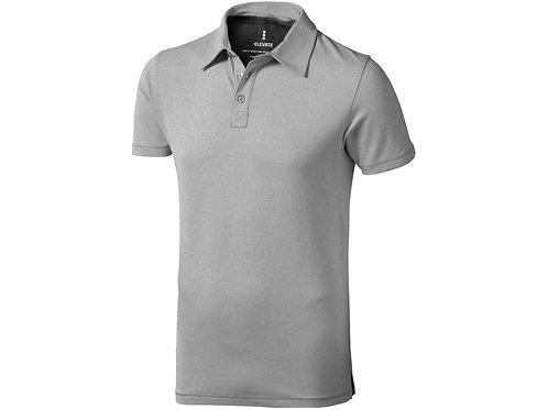 """Рубашка поло """"Markham"""" мужская, серый меланж/антрацит"""