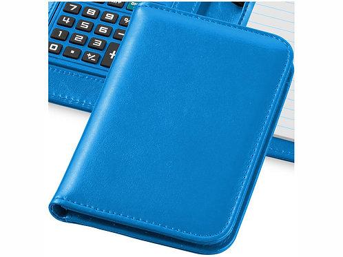 "Блокнот А6 ""Smarti"" с калькулятором, светло-синий"