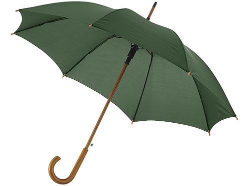 """Зонт Kyle полуавтоматический 23"""", зеленый лесной"""