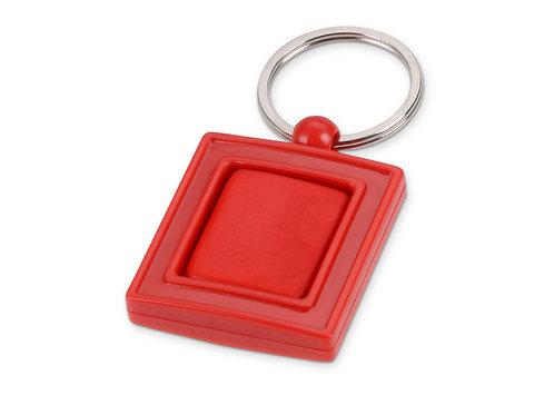 Брелок с вращающимся элементом, красный