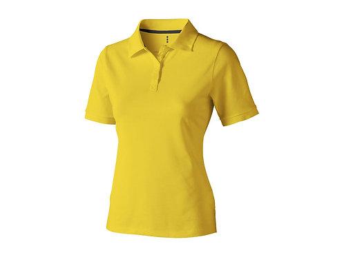 """Рубашка поло """"Calgary"""" женская, желтый"""