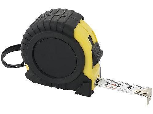 Рулетка с фиксатором и клипсой для ремня, 5 м.
