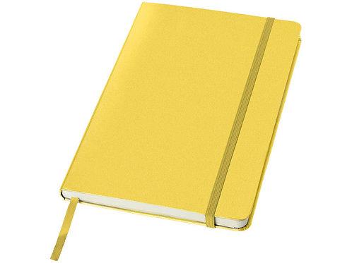 """Блокнот классический офисный """"Juan"""" А5, желтый"""