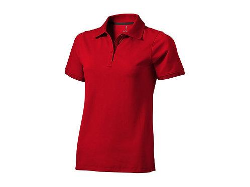 """Рубашка поло """"Yukon"""" женская, красный"""