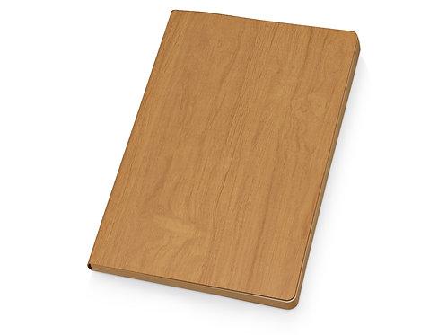 """Блокнот А5 """"Arbor"""", мягкая обложка, коричневый"""