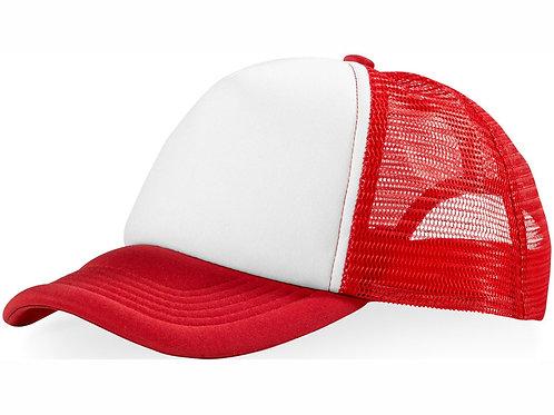 "Бейсболка ""Trucker"", красный/белый"