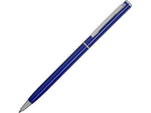 """Ручка металлическая шариковая """"Атриум"""", синий"""