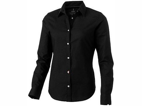 """Рубашка """"Vaillant"""" женская с длинным рукавом, черный"""