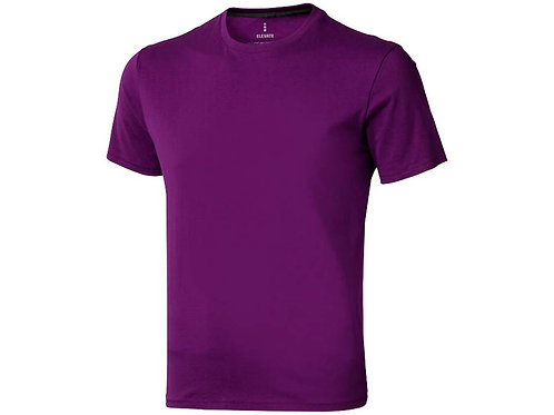 "Футболка ""Nanaimo"" мужская, темно-фиолетовый"