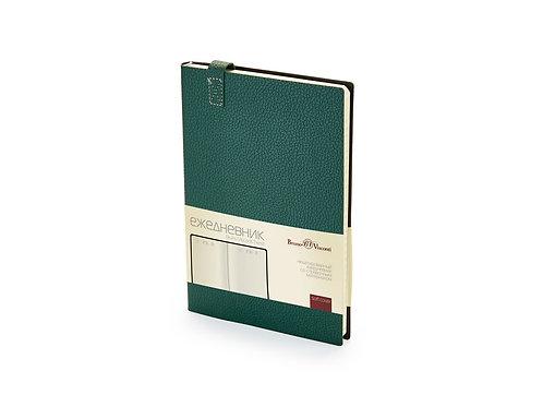 Ежедневник А5 недатированный «Trend», зеленый
