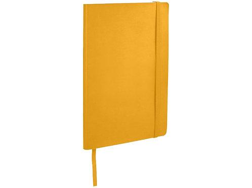 Классический блокнот А5 с мягкой обложкой, желтый