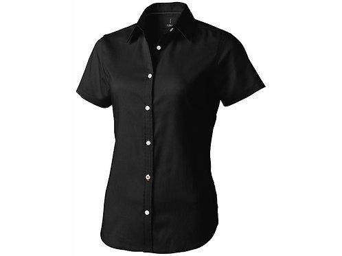 """Рубашка """"Manitoba"""" женская с коротким рукавом, черный"""