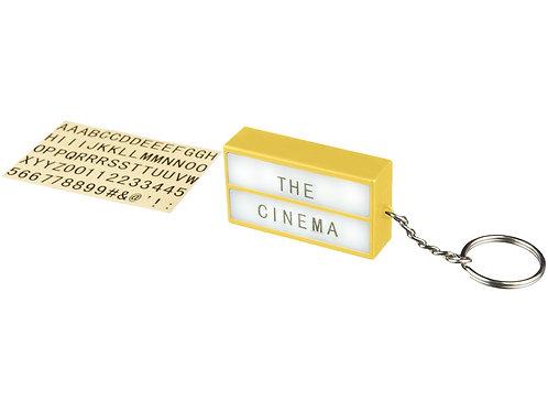 Брелок - фонарик Cinema, желтый