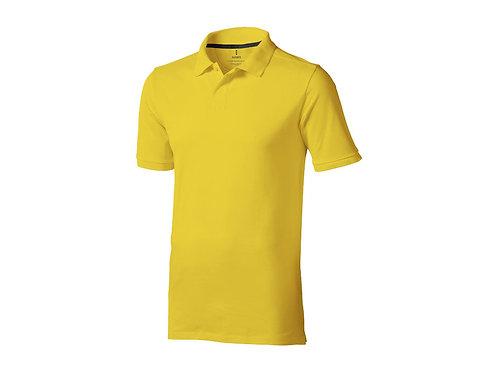 """Рубашка поло """"Calgary"""" мужская, желтый"""