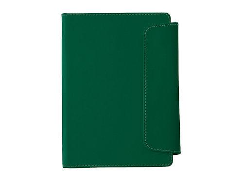 """Блокнот A5 """"Horsens"""" с шариковой ручкой-стилусом, зеленый"""