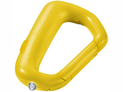 """Брелок """"Proxima"""" с карабином и фонариком, желтый"""