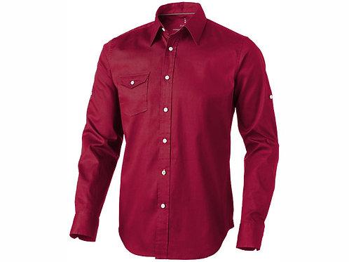 """Рубашка """"Nunavut"""" мужская с длинным рукавом, красный"""