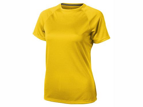 """Футболка """"Niagara"""" женская, желтый"""