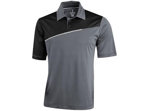 """Рубашка поло """"Prater"""" мужская, серый/черный"""