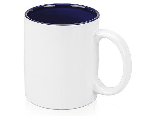 Кружка «Gain» 320мл, белый/темно-синий