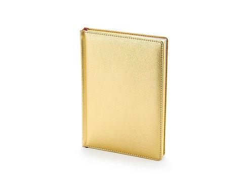 Ежедневник недатированный А5 «Sidney Nebraska», золото