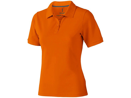 """Рубашка поло """"Calgary"""" женская, оранжевый"""