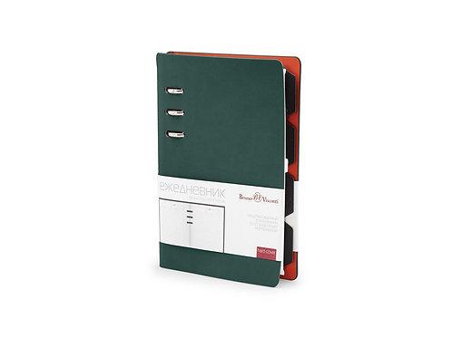 Ежедневник недатированный А5 «Firenze», зеленый