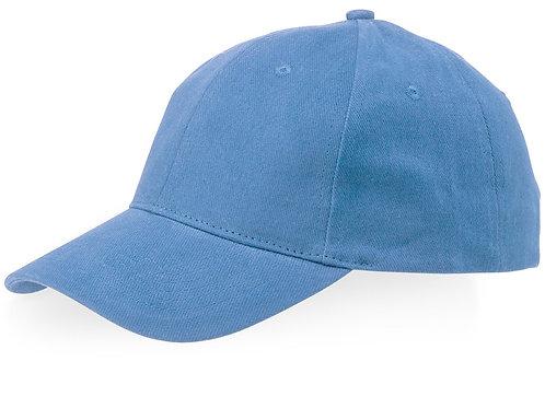 "Бейсболка ""Watson"", 6 панелей, светло-синий"