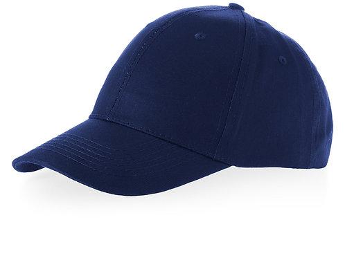 "Бейсболка ""Watson"", 6 панелей, темно-синий"