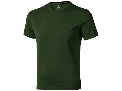 "Футболка ""Nanaimo"" мужская, армейский зеленый"