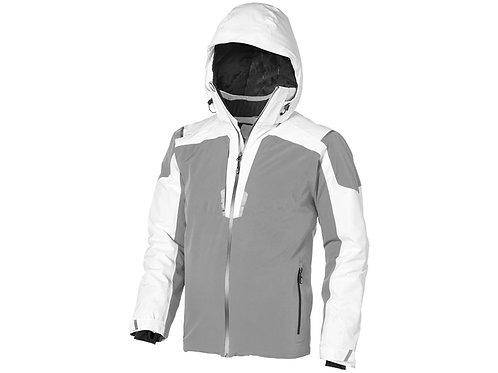 """Куртка """"Ozark"""" мужская, серый/белый"""