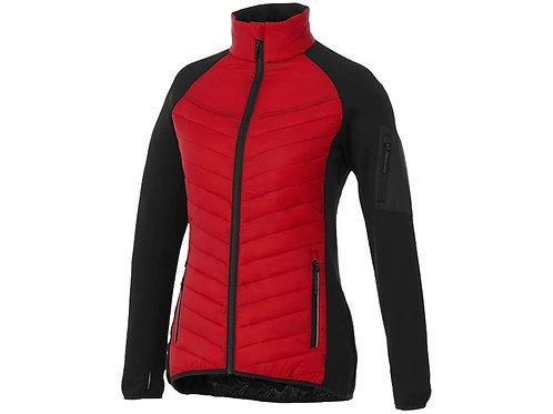 """Куртка """"Banff"""" женская, красный/черный"""