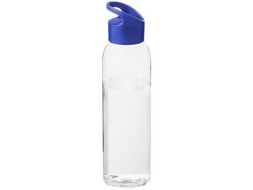Бутылка Sky, прозрачный/синий