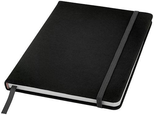 Блокнот Spectrum A5 с белыми страницами, черный