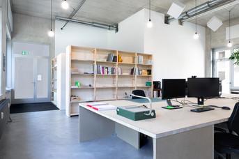 Büroausbau Architektur LD&F
