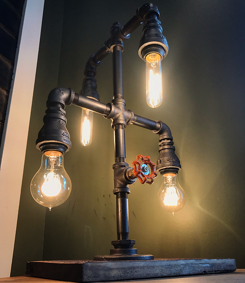 4 Light Pipe Lamp