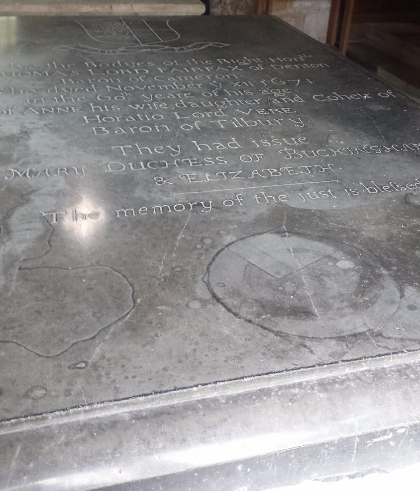Tomb of Sir Thomas Fairfax, St James' Church, Bilbrough