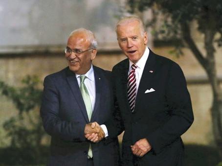 Biden's victory, Erekat's death teach valuable lessons for peace camp