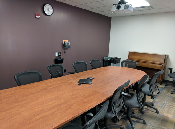 Music building conference room