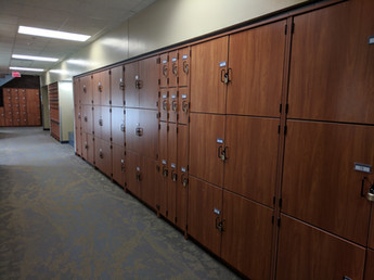 Lockers for rent
