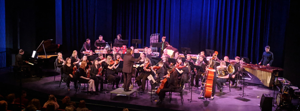 String Orchestra and Concert band