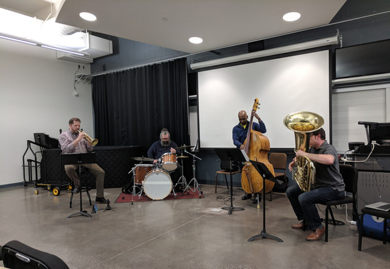 Faculty lecture/performance, Spring 2018
