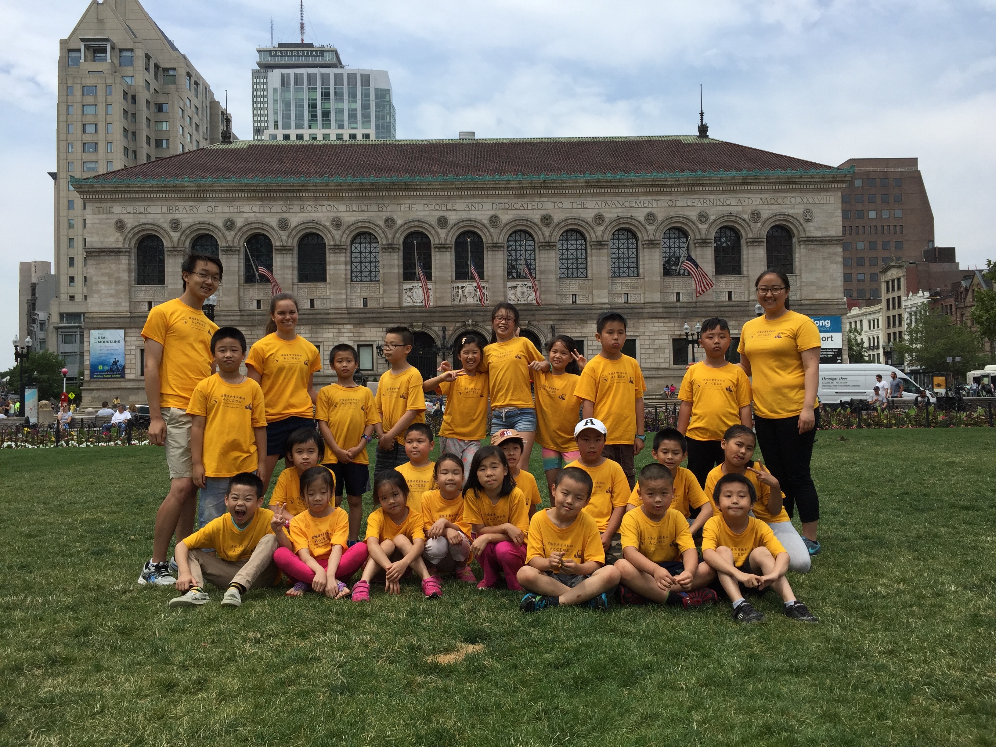 Visiting Copley Square