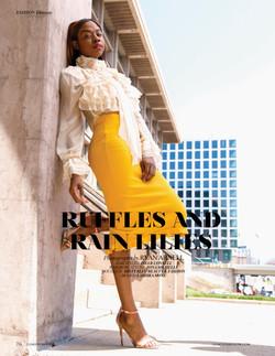 RUFFLES AND RAIN LILIES