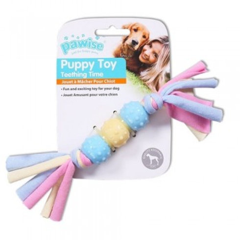 Pawise Puppy Life Teething Balls with Rope