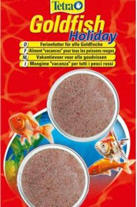 Tetra Goldfish Holiday - 2 x 12g